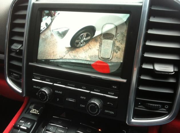 Porsche Cayenne Reversing Camera