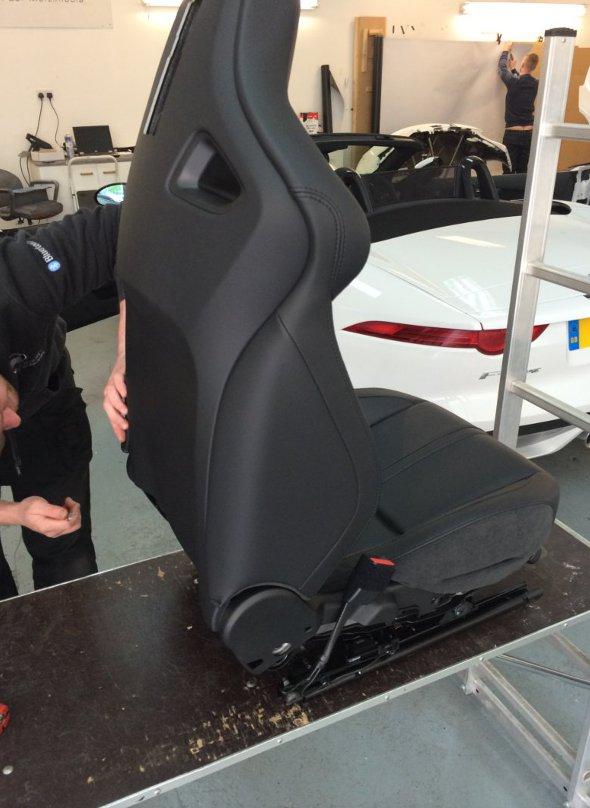 Jaguar F-Type Convertible Heated Seats