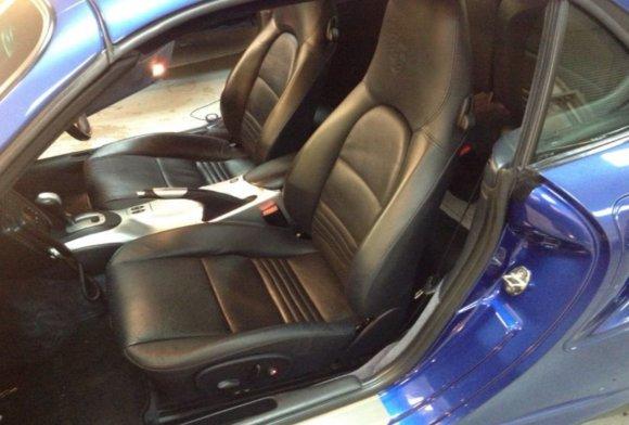 Porsche 911 Turbo Heated Seats