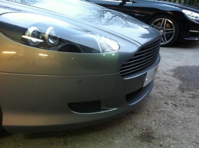 Aston Martin DB9 Front Parking Sensors