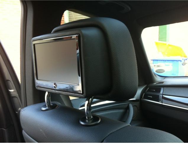 Bmw X5 Rear Dvd System Av Solutions