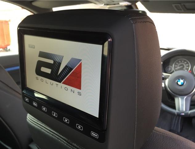 BMW 3 Series GT Rear DVD Package