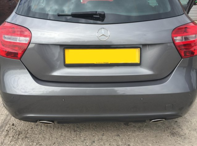 Mercedes A Class aftermarket Parking Sensors (4)