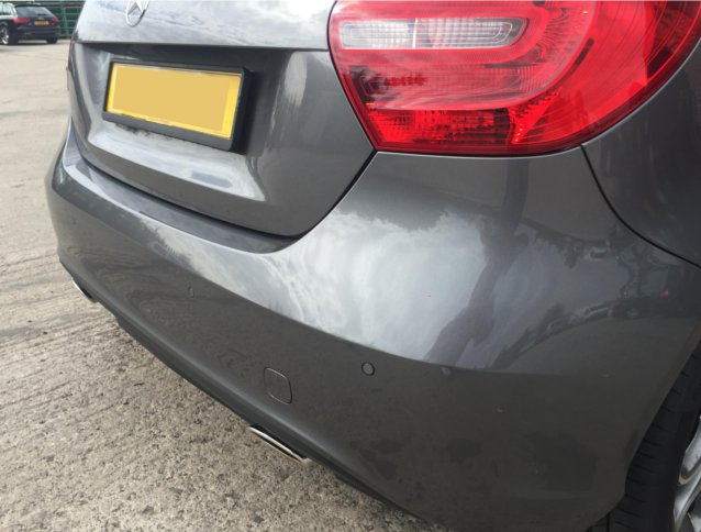Mercedes A Class aftermarket Parking Sensors (5)