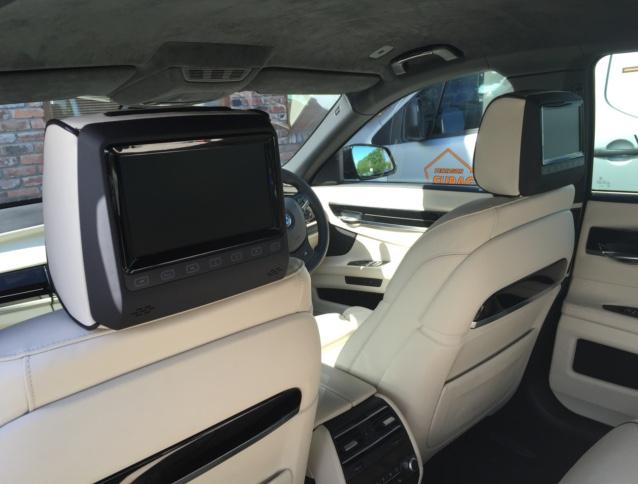 BMW 7 Series rear dvd package  (2)