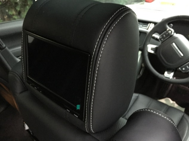 Range Rover Voque Rear DVD