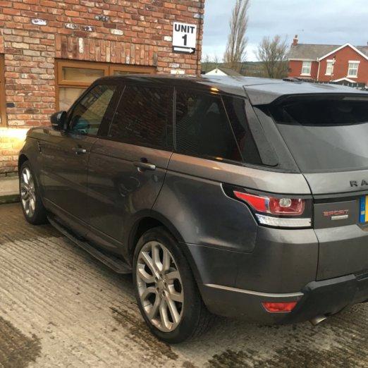 Range Rover Sport Aftermarket Reversing Camera