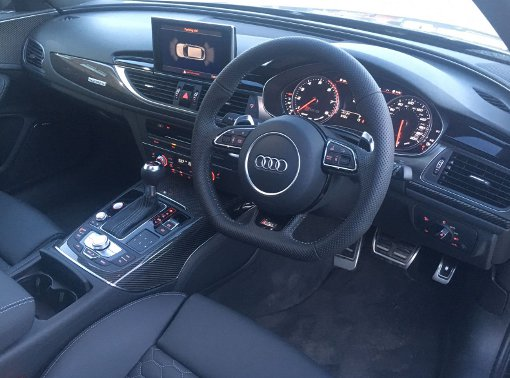 Audi RS6 Aftermarket reversing camera kit (3)