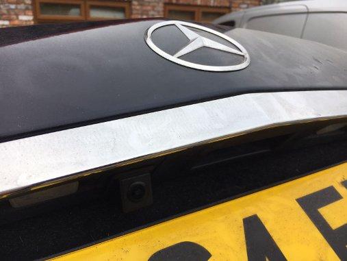 Mercedes E Class reversing camera aftermarket (3)