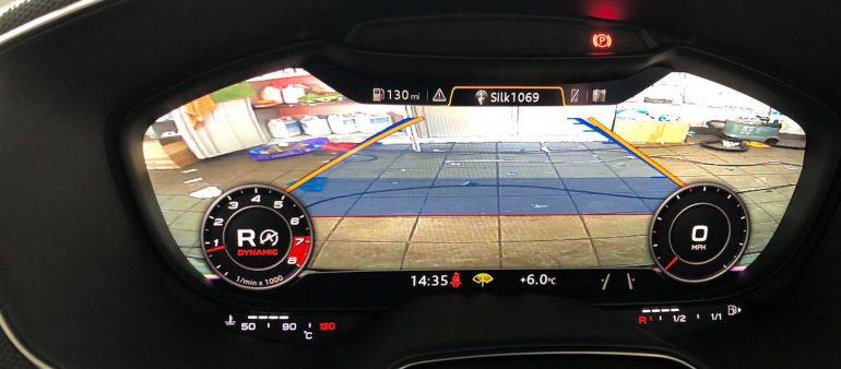 Audi TT Reversing Camera (2018)