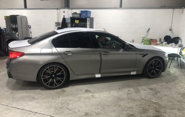 BMW M5 Competition insurance approved S5 tracker